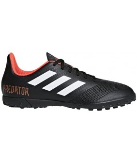 Chaussures pour enfants de Futsal et Foot à 5 noires predator tango 18.4 TF adidas