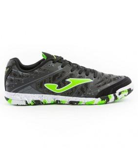 Chaussures pour adultes de Futsal et Foot5 noires Super Regate Indoor Joma