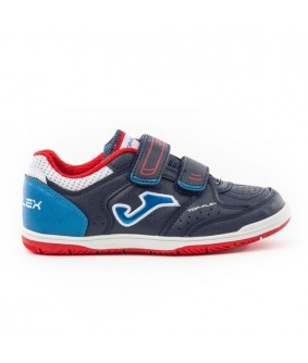 Chaussures de Futsal enfant Top Flex Navy IN Joma