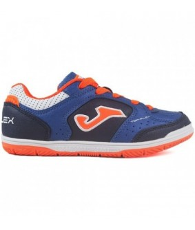 Chaussures de Futsal enfant Top Flex 905 Navy IN Joma