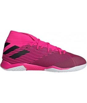 Chaussures roses pour adultes de Futsal et de Foot à 5 Nemeziz 19.3 IN adidas