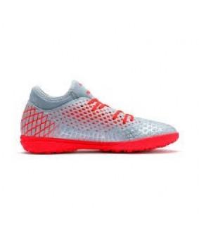 Chaussures pour adultes de Futsal et de Foot à 5 argent future 4.4 Netfit TT Puma