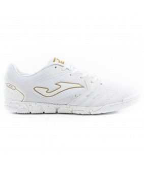 Chaussures pour adultes Foot à 5 Blanche Liga5 TF Joma