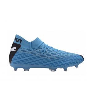 Chaussures pour adultes de Futsal et de Foot à 5 FUTURE 5.2 NETFIT bleues Puma