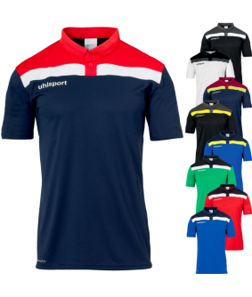 Polo Football et Futsal Enfant Offense 23 Shirt Uhlsport