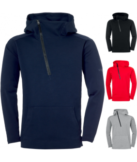 Sweat à capuche Football et Futsal Enfant Pro Zip-Hoodie Uhlsport