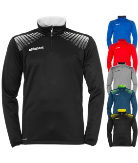 Sweat Football et Futsal Enfant Goal 1/4 Zip Top Uhlsport