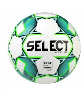 Ballon de Football Bleu et Vert Match DB Select