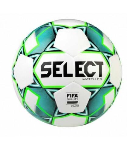 Ballon de Football Bleu et Vert Match DB Select