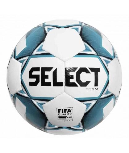 Ballon de Football Bleu et Blanc Team FIFA Select
