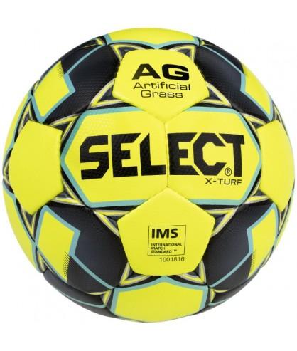 Ballon de Football Jaune et Noir X-Turf Select