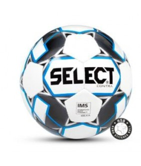 Ballon de Football Blanc et Bleu CONTRA Select