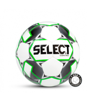 Ballon de Football Blanc et Vert CONTRA Select