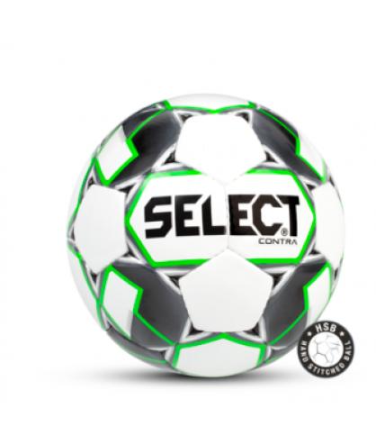 Ballon de Football Blanc et Vert CONTRA Select