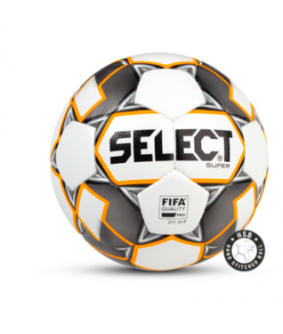 Ballon de Football Blanc et Orange Super Select