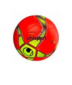 Ballon de Futsal et Foot à 5 Rouge et Jaune Medusa Anteo Uhlsport