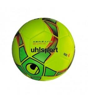 Ballon Junior de Futsal et Foot à 5 Jaune et Vert Medusa Anteo 290 Ultra Lite Uhlsport