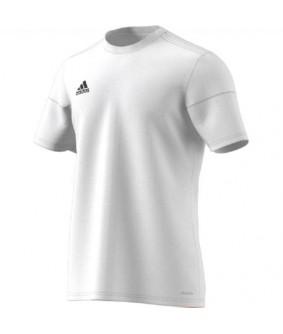 Maillot Blanc Futsal et Football Squadra Climalite adidas