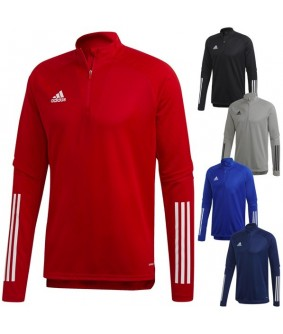 Sweat 1/2 zip Enfant et Adulte de football et de futsal Condivo 20 adidas