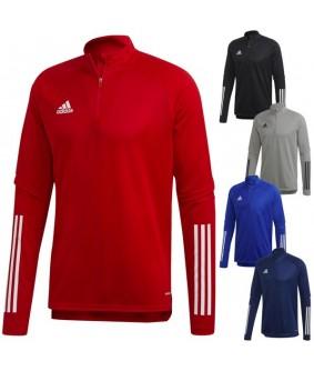 Sweat 1/2 zip Enfant et Adulte de football et de futsal Condivo 20 adidas