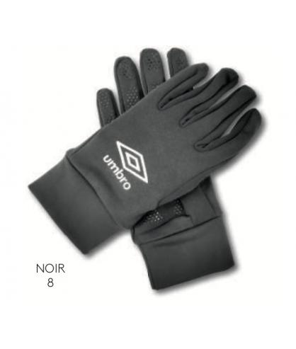 Gants Joueur Noir officiel Umbro AS Saint Brice Courcelles