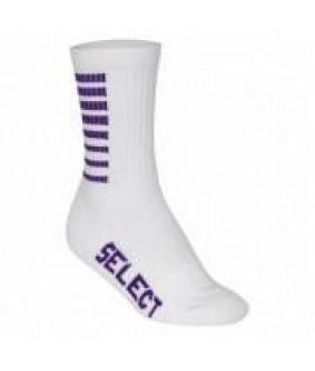 Chaussettes handball à rayures SELECT