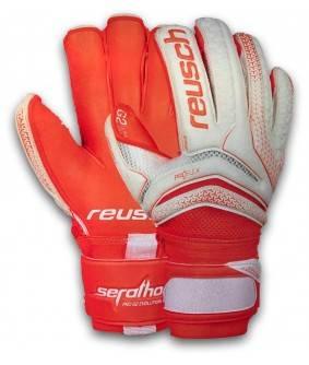 Gants de Football et de Futsal orange Serathor Pro G2 Evolution Ortho-Tec Reusch