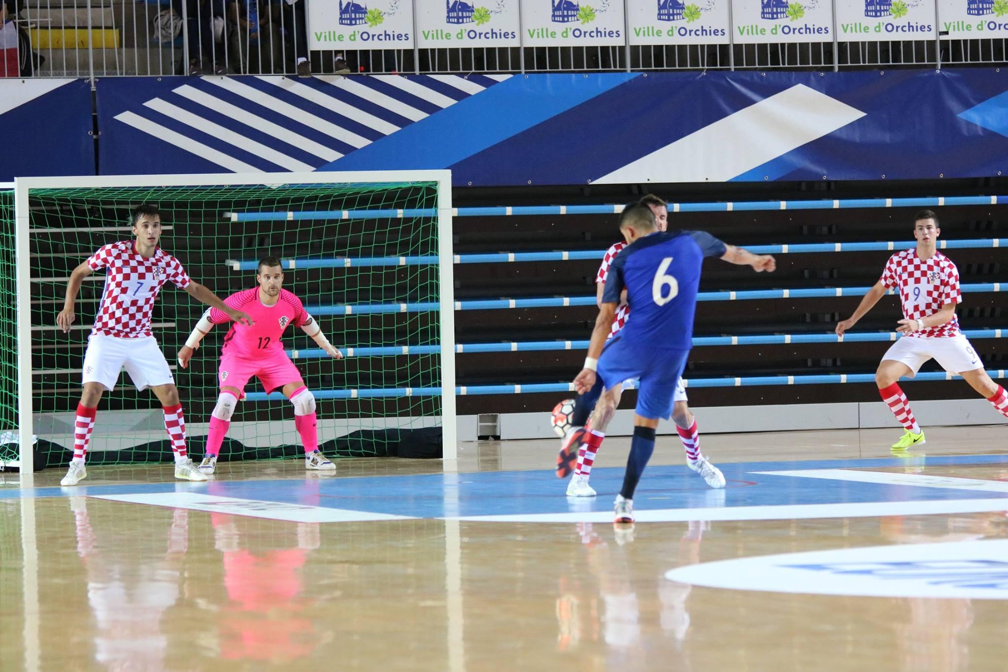 Kevin Ramirez France Futsal Croatie