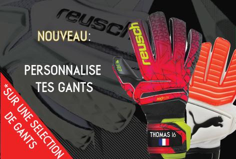 Personnalisation gants