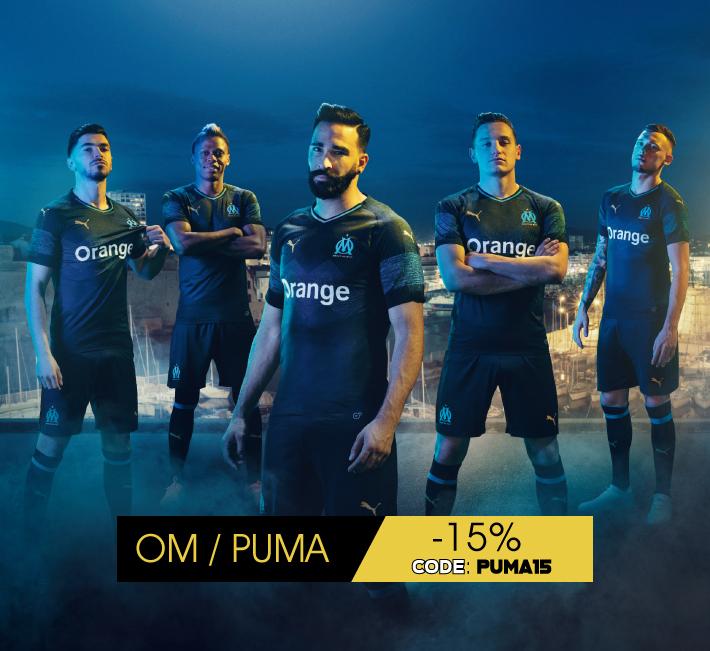 Nouvelle Collection OM Puma Pas cher