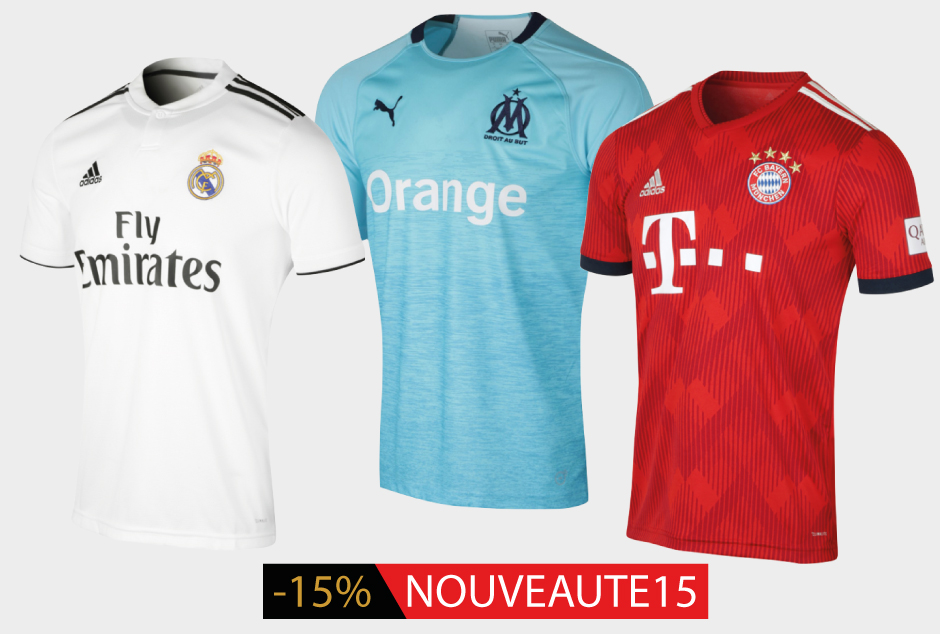Promotion Maillots 2018/2019