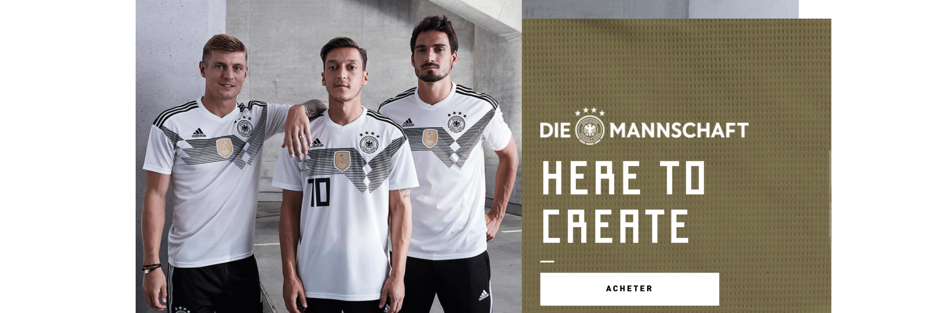 Boutique Allemagne Football